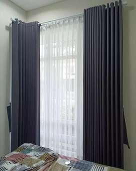 Curtains gorden gordyn series-5897 tirai acuan pas