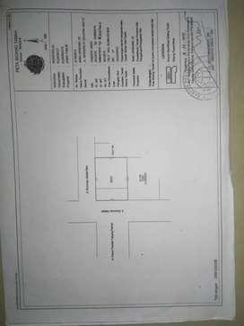 Tanah + Bangunan Hook SHM 297 m² TEPI JALAN RAYA Wonorejo Rungkut