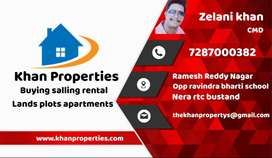 10 lax to start indiduval houses  you want properties in nellore  call