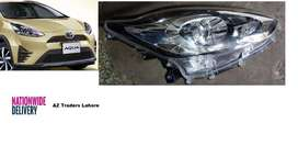 Toyota Aqua Headlight Front Left Right Pair 2nd Facelift 2017-2018