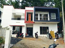 Red brick 4 bhk new style house in Lncp Karyavattom