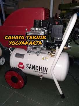 (CAHAYA TEKNIK JOGJA) kompresor sanchin 1 hp 24 liter