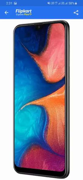 Samsung a20 black color