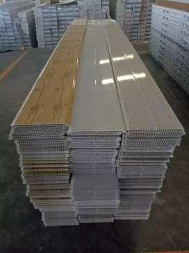 Plapon PVC, Gypsum terpasang