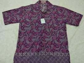 Batik Pria Lengan Pendek