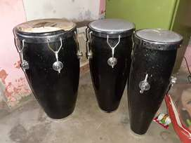 3 dhol,only leather fate huye he