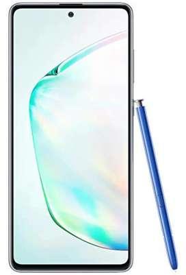 New Samsung Galaxy Note 10 Lite, 8 GB RAM /128 GB Memory, Aura Glow