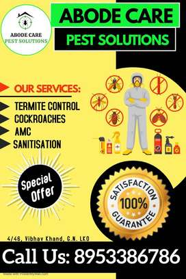 Pest Control And SANITIZATION SERVICES