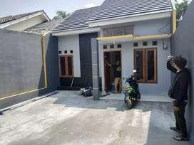 Rumah baru siap huni type 55/100 di depok