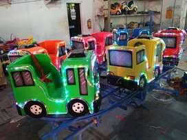 RST odong2 kereta panggung mainan kuda genjot pancingan elektrik IIW