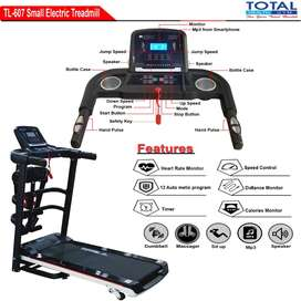 Treadmill Elektrik 1,5HP TL-607 - Total Health Gym Jakarta Selatan