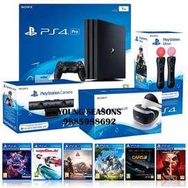 PS4 Pro 1TB PSVR Bundle With 30 Games