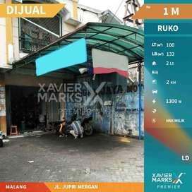 Dijual Ruko 2 Lantai di Jalan Jupri Mergan Malang Lokasi Strategis