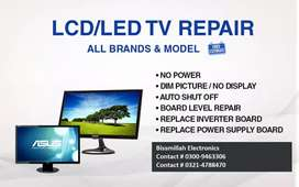 LED TV, LCD TV Repairing available also in Eid in lahore