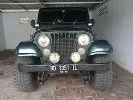 Jeep chrysler, willys universal cj 7 hard