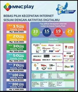 Pasang Internet & TV Kabel MNC Play Media