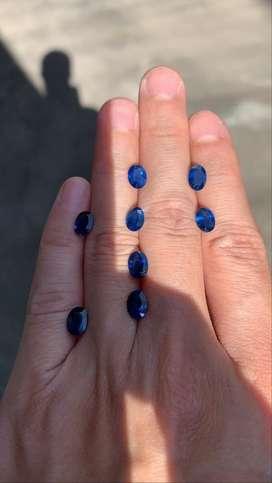 Blue sapphire oval cut cakepp