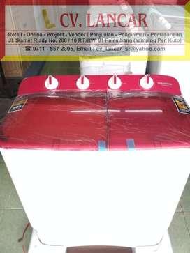 Mesin Cuci Polytron 8kg (GARANSI 3TH) free ongkir bayar dirumah