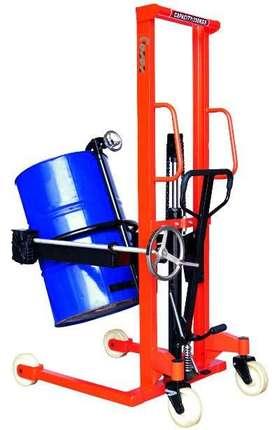 Importir Drum Stacker Lifter Untuk Angkat Tuang Drum Kaleng Plastik
