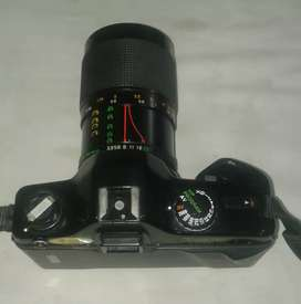 Camera Yashica with Zoom (film roll) with lenses