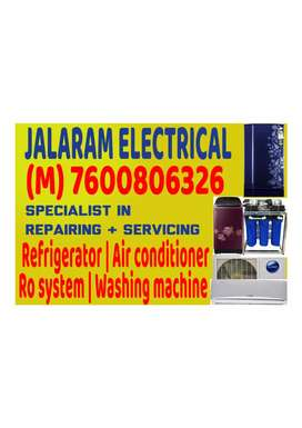 Refrigerator, Air conditioner and Washing machine Repairing specialist