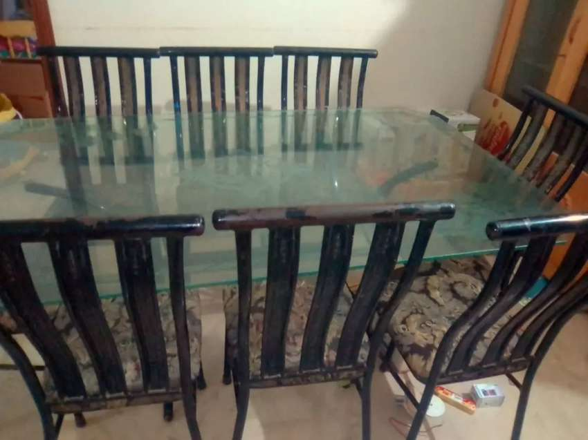 8 chairs dining table 0