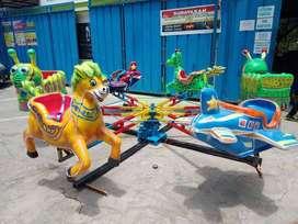 Jual Odong kOmedi Putar Lantai Kereta mini Rumah Balon Bompes