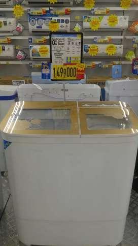 Bisa kredit mesin cuci bunga ringan tanpa CC