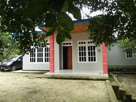 Bangunan rumah + lahan