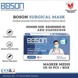 Masker 3ply Untuk Tenaga Medis Boson