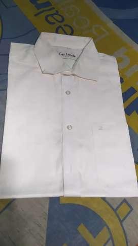 Guy Laroche Kemeja Pendek Putih Size 3 (Setara M dan L) Original