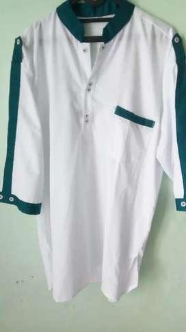 Baju Koko kurta putih