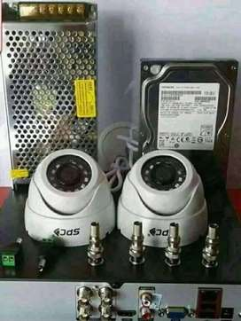 pasang 2Mp Kamera CCTV||paket online Hp instalasi rapi di jamin