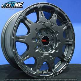 Velg model rally WRX 1072 HSR Ring 16 Lebar.7 PCD.4X100-4X114.3 ET.45