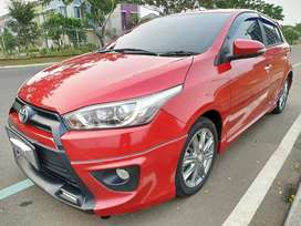 Toyota Yaris TRD Sportivo AT merah 2016