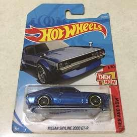Hot wheels / hotwheels Nissan Skyline 2000 GT-R Blue Kenmeri