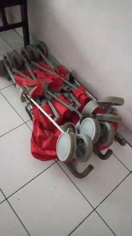 Stroller kembar twin
