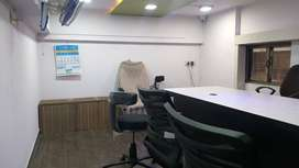 commercial office on carpet area is 450sqft,and very good locality.