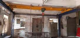 Mechanical over head trolleys/ crane with 5 ton chain pulley