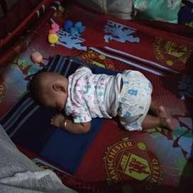 ranjang bayi berayun