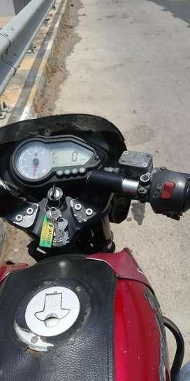 Bajaj Pulsar good condition one tyre wanting self condition bike