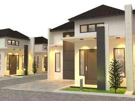Jual rumah type 36 dan 45 siap bangun, pilih design sesukanya.