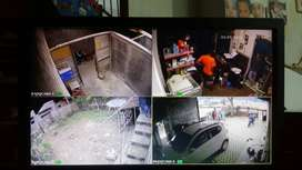 PROMO paket Terlengkap 4 kamera+hardisk merk hikvision 2Mp termurah