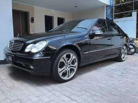 ISTIMEWA Mercedes Benz W203 C240 Elegance Built Up CBU Sunroof 2001
