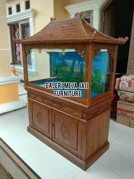 Meja Aquarium nois feed kaca B113 kode
