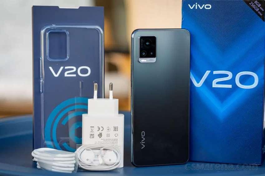 VIVO V20 8/128GB GARANSI RESMI SEGEL , BISA COD FREE ONGKIR 0