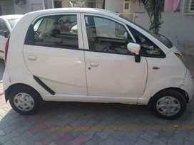Tata Neno white car