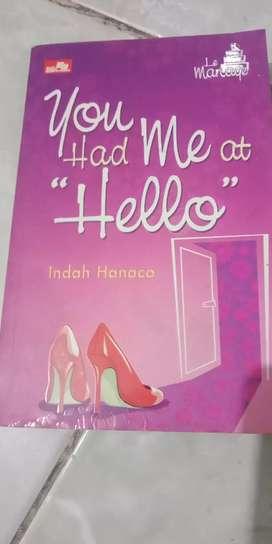 Novel karya INDAH HANACO