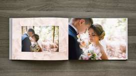 Needed wedding album deisgner. Commission will be there