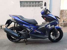 Yamaha aerox r movistar 2018/12 low km 20rban gress tinggal pakai